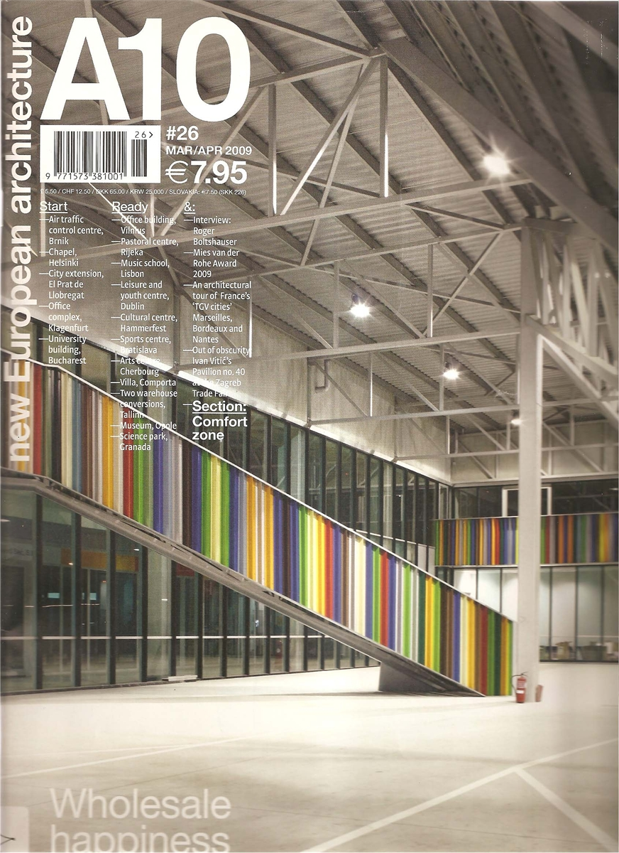 Revista A 10, new European architecture,  nº 50 . Marzo – Abril 2009